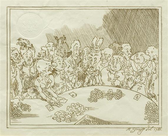 gesellschaft beim kartenspiel by anton graff