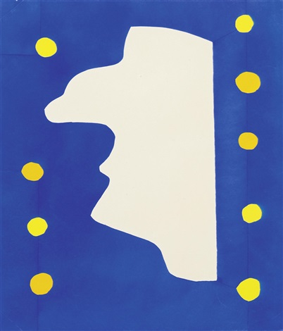monsieur loyal from jazz by henri matisse