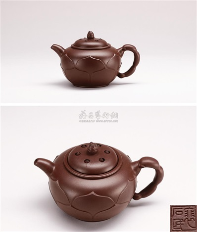 lotus teapot by pei shimin