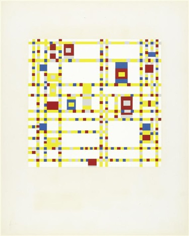 mondrian portfolio of 12 wcolophon index and intro by michel seuphar by piet mondrian