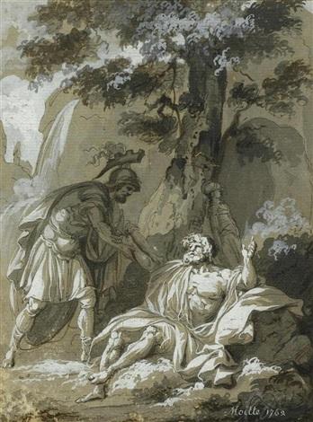mythologische szene mit eteocles by jean guillaume moitte