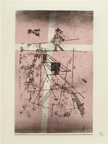seiltänzer from kunst der gegenwart by paul klee