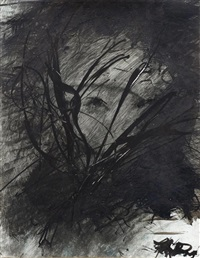 ohne titel (van gogh) by arnulf rainer