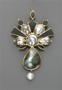 a pendant/brooch by nadine ifrah leo