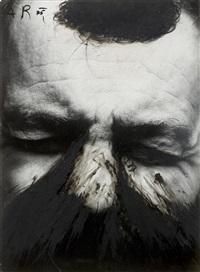 selbstporträt by arnulf rainer