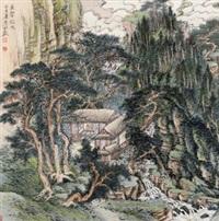 泉声松色 by liu yanshui