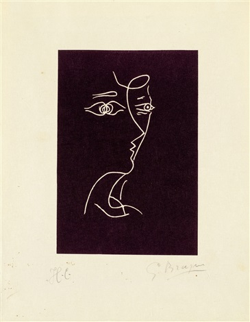 aus le tir à larc by georges braque
