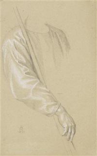arm und hand (study) by johann friedrich overbeck