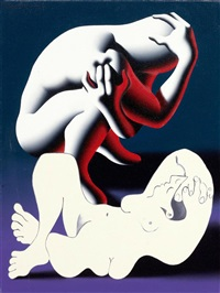 desire and denial by mark kostabi