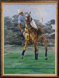 polo player by jack martin smith