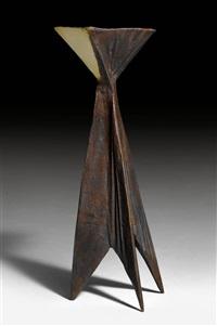 candlestick, posthumer guss by lynn chadwick
