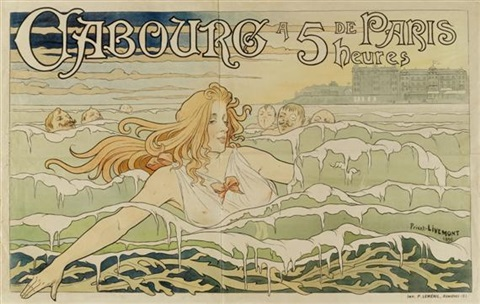 cabourg by henri privat livemont