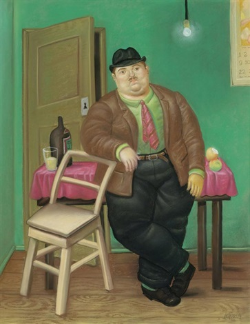 homme by fernando botero