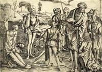 das schiessen auf den toten vater (martyrium des heiligen sebastian) by matthaus zasinger