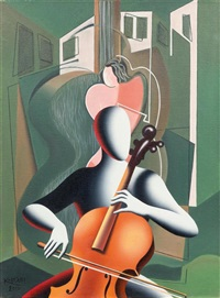 the unstrung quartet by mark kostabi