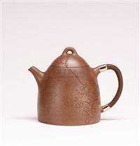qin weight teapot by ji hu