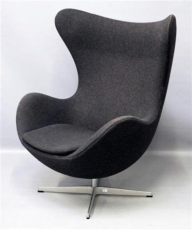 Lounge Sessel Egg Chair Modell 3317 By Arne Jacobsen On Artnet