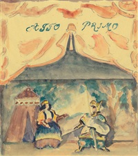 orlando und angelica. ein puppenspiel in zehn akten (bk by julius meier-graefe w/72 works, 2 drawings, and justif.) by erich klossowski