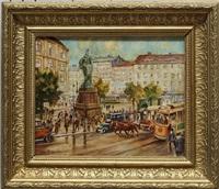 berlin. der alte alexanderplatz 1912 by otto antoine