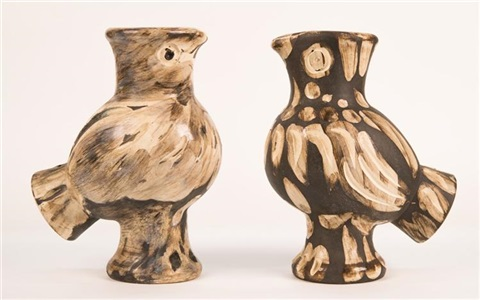Two Chouette Vases By Pablo Picasso On Artnet