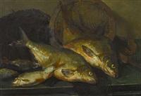 fischstillleben by willem korteling