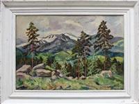 impressionistische landschaft by otto beyer