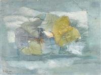 abstrakte komposition by alessandro volpi
