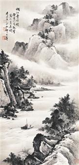 烟江叠嶂图 by qi dashou