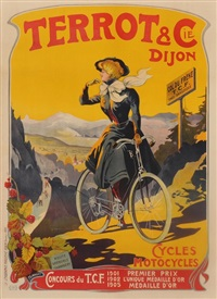 terrot & cie. dijon. cycles motocycles. concours de t.c.f. by francisco tamagno