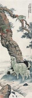 吉祥神猿 by liu kuiling