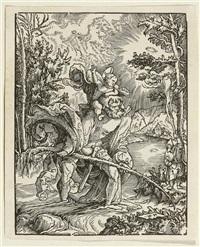 der hl. christopherus by wolf huber