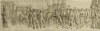 kaiser napoleons einzug in nantes by françois jean (jean françois) sablet