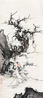 高士图 立轴 设色纸本 by chen shaomei