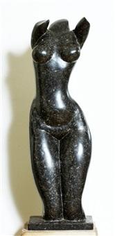 een torso van een vrouw by jean marie abel