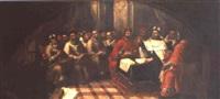 san cirilo en el concilio de efeso by francisco meneses osorio