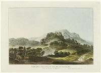 vue du chateau de regensperg dans le canton de zurich by heinrich freudweiler