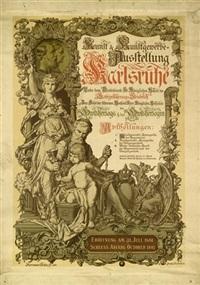 kunst & kunstgewerbe-ausstellung karlsruhe by hermann götz