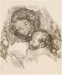 maternité by pierre-auguste renoir