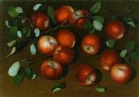 rote äpfel by sergei viktorovich smirnov