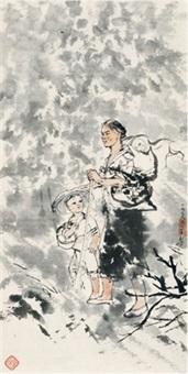 母子 (mother and son) by cheng shifa
