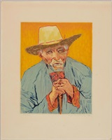 van gogh. le paysan by jacques villon