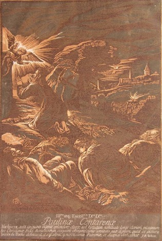 the annunciation to the shepherds after j bassano by john baptist jackson