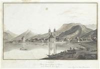lachen bourg dans le canton de schweiz sur les forntieres du lac de zurich by matthias pfenninger