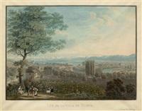 vue de la ville de zurich (after david alois schmid) by franz hegi