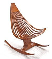 a rocking chair by edward g. livingston