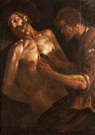 st bartolomeus martyrium by michelangelo merisi da caravaggio