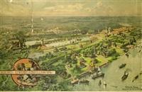 berliner gewerbe ausstellung im treptower park by julius jacob the younger