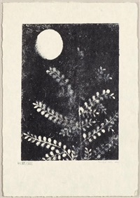 3 bll. aus: patrick waldberg. aux petits agneaux by max ernst