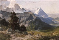 col de balme by alexander jules von soldenhoff