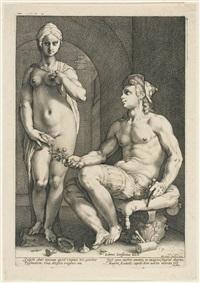 pygmalion und galathea by hendrik goltzius